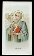 antico santino cromo-holy card S.LUCA EV.