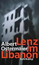 Lenz im Libanon von Albert Ostermaier (2015, Gebundene Ausgabe)