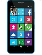 NEW Microsoft Lumia 640 - 8GB - Cyan (LOCKED TO Cricket Prepaid plan) Smartphone