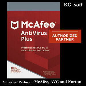 McAfee Antivirus Plus 2021 for 10-device 1-year | Activation Code