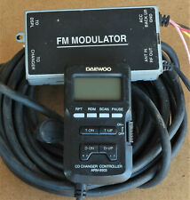 New listing Genuine Daewoo Cd Changer Controller Rf Modulator With Display + Cable - Arm9503