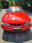 1994 Ford Mustang COBRA 1994 Ford Mustang Coupe Red RWD Manual COBRA