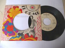 "LE ORME"" FIORI E COLORI-disco 45 giri CAR Italy 1967"" BEAT Italy"