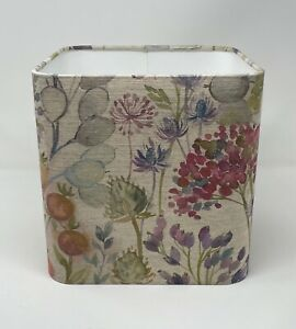 **. SALE  ** Lampshade Voyage Hedgerow Floral Rounded Square Light Shade