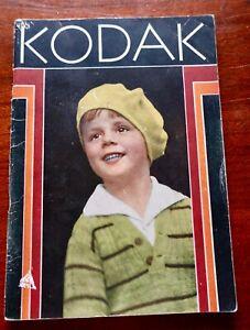 Kodak 1931 Catalog & Kalart Ad Pamphlet