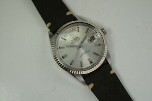 TUDOR 7019/4 JUMBO DATE-DAY OYSTER PRINCE WGB AUTOMATIC DATES 1968-69