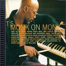 T.S. Monk, Thelonious Monk - Monk on Monk [New CD] Enhanced