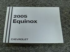 2005 Chevy Equinox SUV Owners Owner's Manual User Guide LS LT AWD 3.4L V6