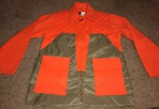Browning Brown Blaze Orange Hunting Jacket Game Pocket Size Medium