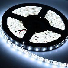 5M 300Leds 5050 Cool White Led Strip Bright Flexible Lights Lamp Tape DC 12V HOT