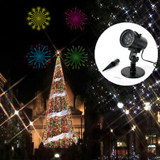 Christmas LED Laser Projector Light W/Base Holiday Decoration Show  18 Patterns