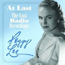 PEGGY LEE - AT LAST-LOST RADIO RECORDINGS 2 CD NEUF