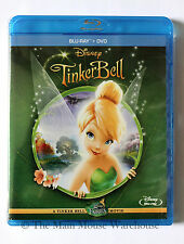 The TinkerBell Movie Tink Pixie Tinker Bell Blu Blu-ray DVD 2 Disc Combo Pack