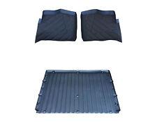 3 piece Set Polaris Ranger floor mats Liners formed rubber 2013-2017 900 XP Crew
