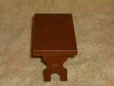Little People Size Dollhouse Brown Picnic Table