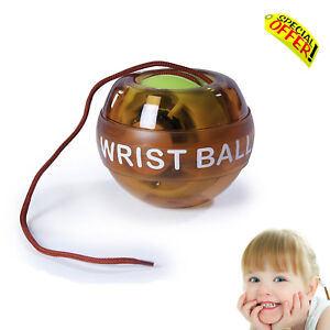 Calming Autism Sensory Toy LED  Light Up Wrist Ball Kids  Special Needs Game