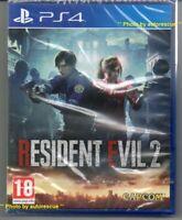 Resident Evil 2 'New & Sealed'  *PS4(Four)*