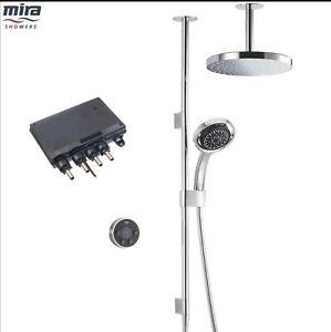 Mira Platinum Dual Ceiling Fed Digital Shower - High Pressure/Combi (1.1796.001)