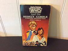 Doctor Who~Rebel's Gamble~FASA 1986 1st Print CYOA Solo Adventure Game