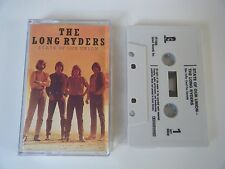 THE LONG RYDERS STATE OF OUR UNION CASSETTE TAPE ISLAND UK 1985