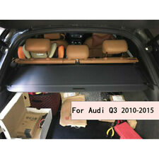 Car Rear Trunk Cargo Cover For Audi Q3 2010-2015 Black Security Shield Shade