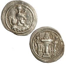 More details for silver drachm of the sasanian yazdgard i