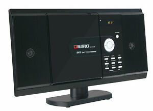 Vertikal HiFi Stereo Anlage Heimkino DVD CD Player Bluetooth MP3 HDMI SD USB