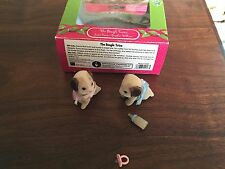 CALICO CRITTERS CLOVERLEAF CORNERS The Beagle Twins in box