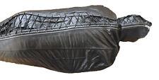 Real Leather Full Body Bondage Straight Jacket Sleep Sack Mask Restraints BDSM
