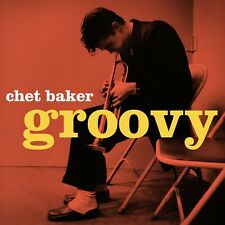 """Reproduction """"Chet Baker - Groovy"""" Jazz Poster, Size: 16"""" x 16"""""""
