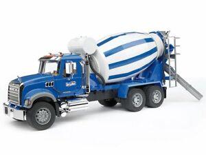 MACK Granite Cement Mixer Bruder Toy Car Model 1/16 1:16