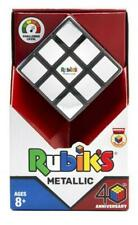 Cubo de Rubik's 3x3 aniversario metálico (nuevo) -10840