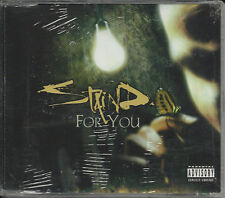 STAIND For You w/ SUFFER LIVE & VIDEO TRX CD Single SEALED 2002 USA Seller