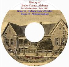 Butler County Alabama History + Sketches of Alabama History