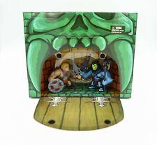 """Mattel SDCC 2013 SKELETOR VS HE-MAN Masters of The Universe 3"""" Mini Set MOTU"""