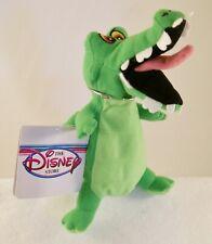 "Disney Store Peter Pan's ""Crock"" Mini Bean Bag Plush NWT MINT & RARE"