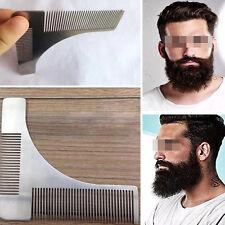 Beard Shaping Shaving Tool Metal Beard Comb Stainless Steel Hair Comb
