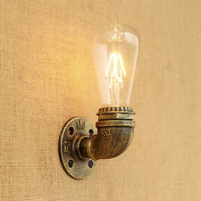 Vintage Loft Copper Industrial Rustic Sconce Edison Bulb Wall Light Lamp Fitting