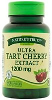 Nature's Truth Ultra Tart Cherry Extract Capsules 1200 mg 90 ea (Pack of 2)