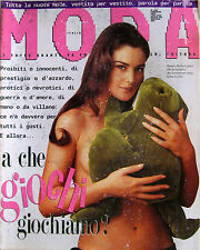 MODA 106 1993 Monica Bellucci Geena Davis Cindy Crawford Al Bano Romina Power