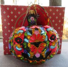 Christopher Radko Ornament Dia de Los Muertos Pumpkin #1019997 New in Box