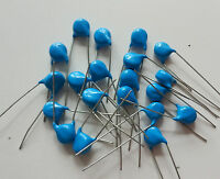 New 20pcs 20KV 101 20000V 101K 100P 100PF High Voltage Ceramic Capacitors