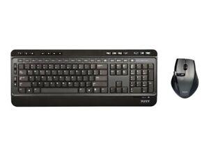 Pack avec clavier silencieux et souris sans fil silencieuse - PORT Connect
