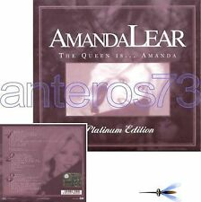 """AMANDA LEAR """"THE QUEEN IS"""" 3 CD ITALY PLATINUM EDITION"""