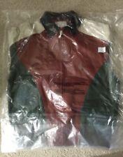 Brand New Supreme Studded Arc Logo Leather Jacket Red Medium Super Rare.