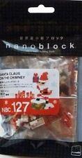 Santa Claus on the chimney Nanoblock Miniature Building Blocks New Sealed 127