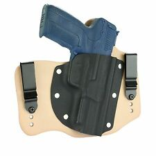 FoxX Holsters Leather & Kydex IWB Hybrid Holster FNH 5.7 Natural Right Tuckable