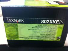 Original Lexmark 802XKE 80C2XKE Toner schwarz  CX510 A-Ware 802XK  80C2XK0