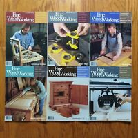 Fine Woodworking Magazine Lot 1988 Complete Year (6) Old Furniture Design Plans