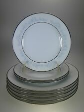 Noritake Fleurette Lot 5 Salad Plates + 3 Bread & Butter Plates